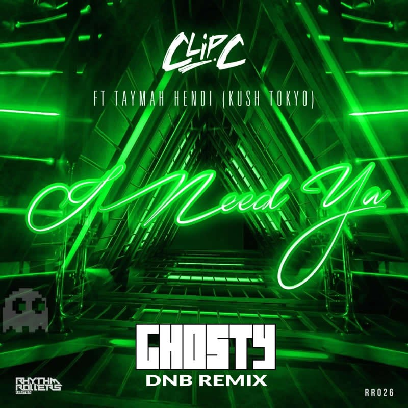 Clip C - I Need Ya (Amnesia) Ghosty  DNB Remix