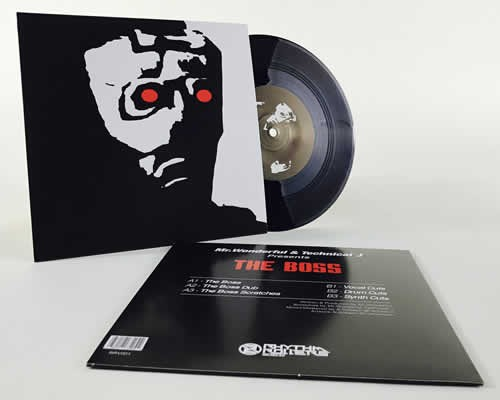 The Boss Vinyl Grime Scratch Kit